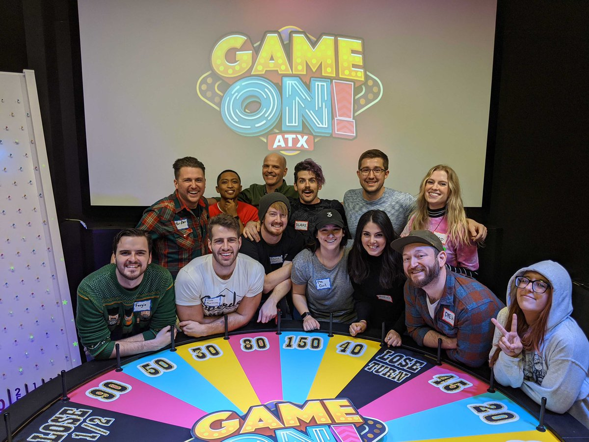 Such a fun team building day at Game On ATX! If you're ever in Austin, you HAVE to experience this.