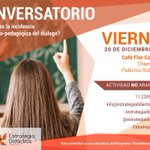 Image for the Tweet beginning: Los invitamos al conversatorio: ¿Cuál