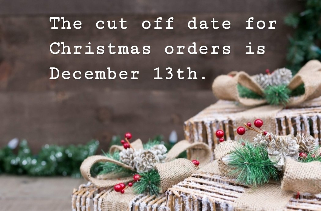 The last date to order personalised items for guaranteed UK Christmas delivery will be Friday December 13th  <br>http://pic.twitter.com/ud7UDVQRDQ