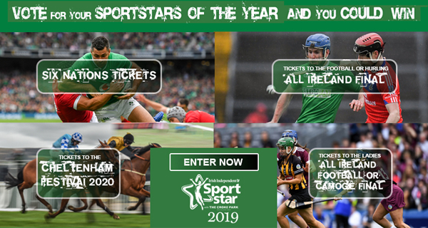 Vote for your Irish Independent Sportstar of the Year in association with The Croke Park Hotel and you could win some fabulous prizes indo.ie/OZPc30q0W2d