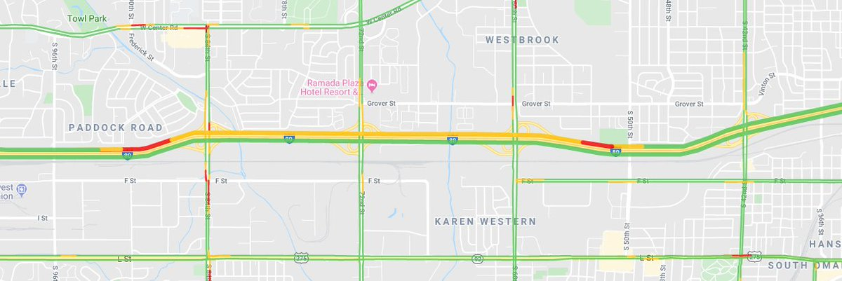 Image posted in Tweet made by Omaha Hwy Conditions on December 11, 2019, 10:07 pm UTC