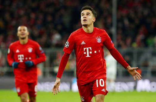 Coutinho cracker helps Bayern Munich past Spurs as Parrott misses out on Champions League appearance ow.ly/BCWU50xxT5F