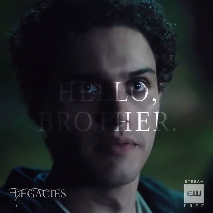Theres only one way to greet your brother. Stream now: go.cwtv.com/streamLGCtw #Legacies