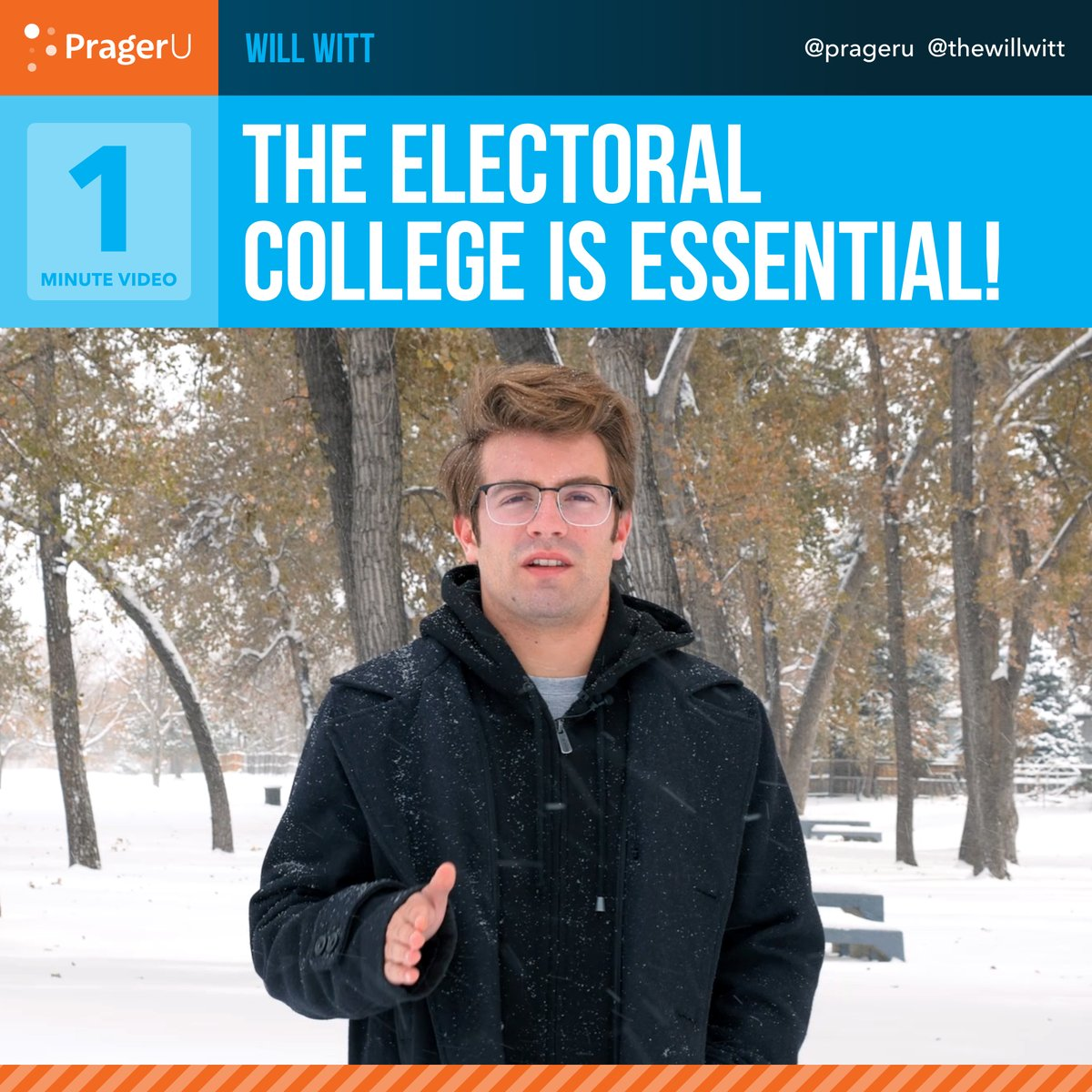 Image for the Tweet beginning: The Electoral College is essential