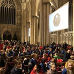 Image for the Tweet beginning: Awesome @AHSYork⁩ carol service ⁦@York_Minster⁩