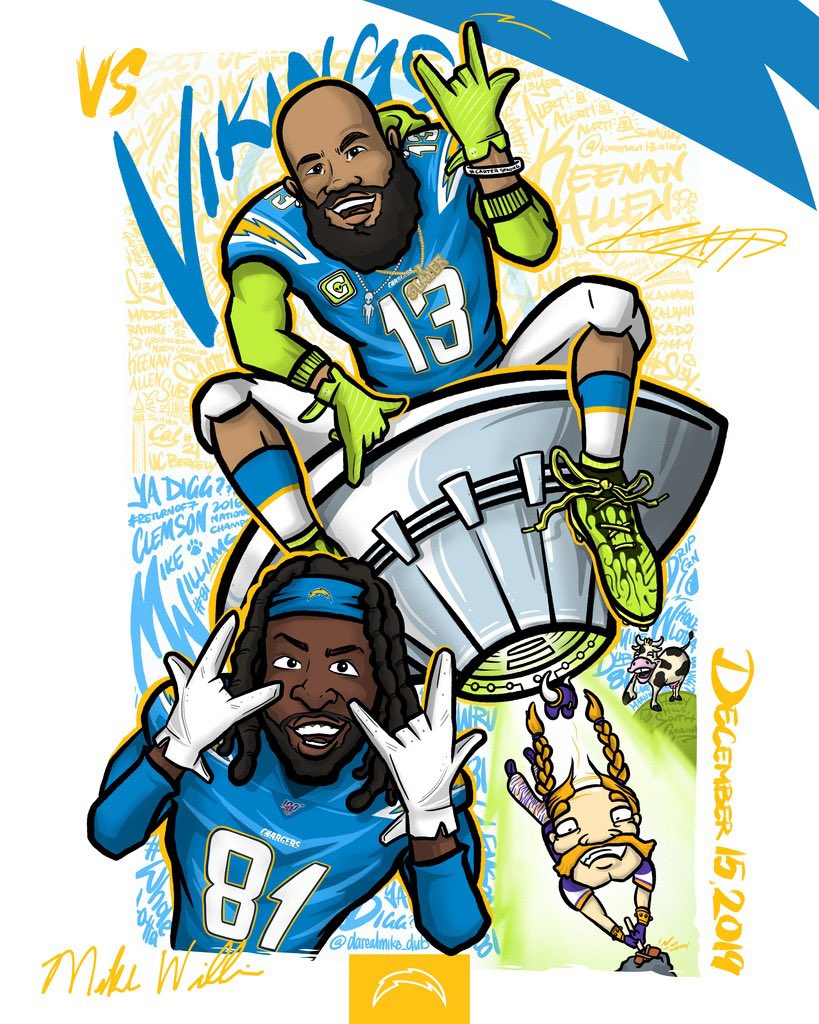 Los Angeles Chargers @Chargers