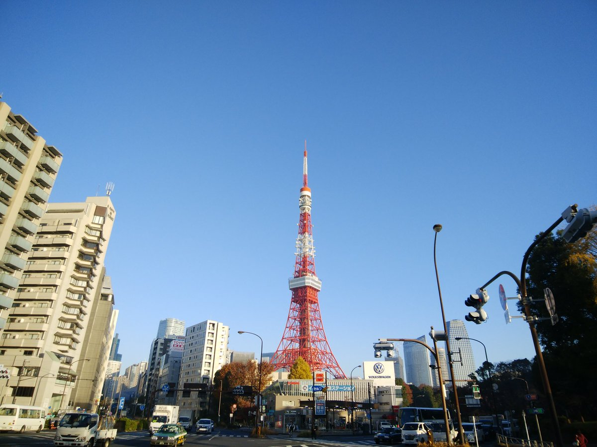 おはようございます☀ #イマソラ #アサソラ #東京 #東京タワー