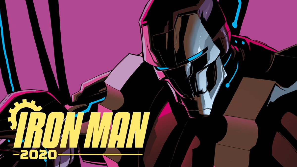 The robot revolution has begun, but is Iron Man on the right side? Find out in Iron Man 2020 #1, on sale January 15: