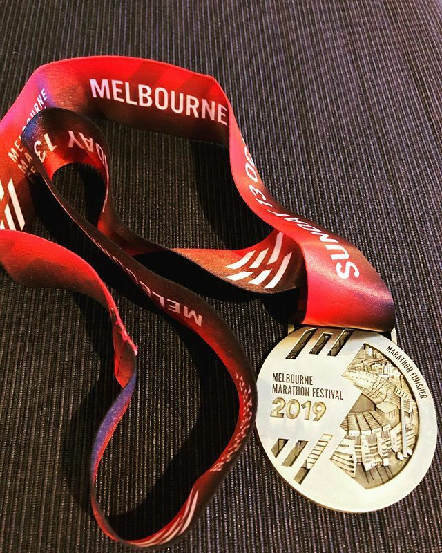 So much pain, work, effort, tears, and joy went into receiving this medal #proud #melbournemarathon #run #runner https://ift.tt/2rBOFOx pic.twitter.com/dKLeo3adrs