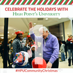 𝗧𝗢𝗠𝗢𝗥𝗥𝗢𝗪 is the first night of #HPUCommunity Christmas! DYK⁉️ #HPUCommunityChristmas started 9 years ago & has grown into the premier complimentary Christmas celebration 🎄 in the Piedmont Triad. #HPUTraditions #HPUFamily #OurCityOurUniversity