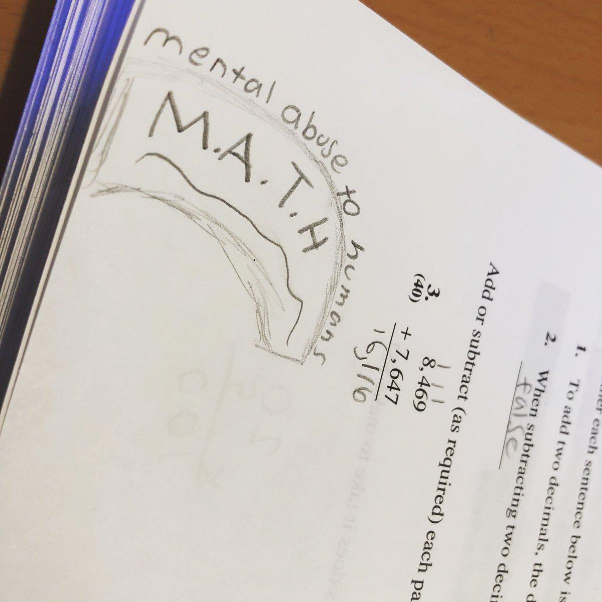 When your kid doodles in her math book 😅#homeschool #largefamily #familyvlog #youtubemom #vlog #largefamilymom #math #teachingtextbooks