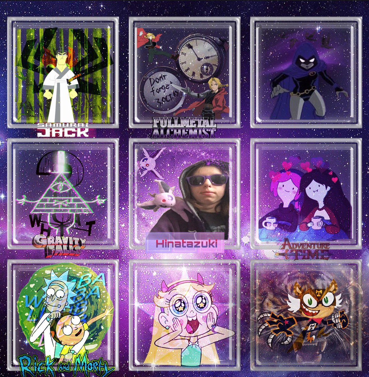 I want to make a challenge for the #ArtistOnTwitter to make a moodboard of either shows or inspirations up to 2020 to see how far we've come in these 2 decades. #adventuretime #FullmetalAlchemist #StarVsTheForcesOfEvil
