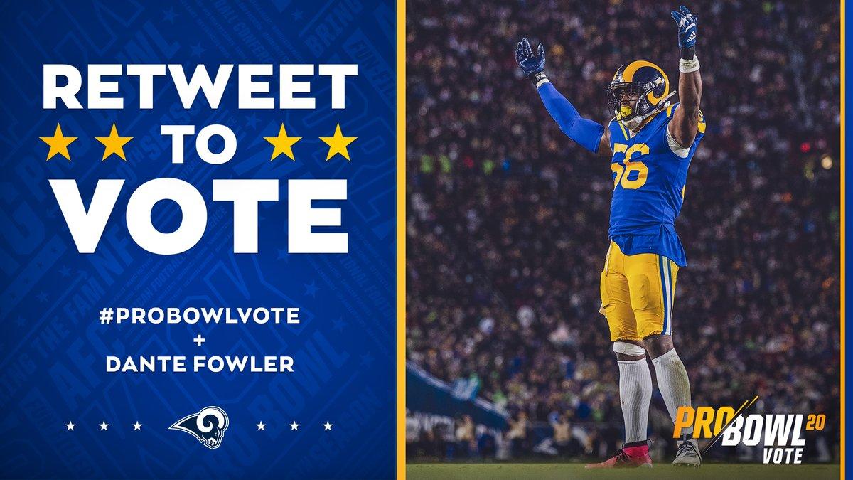 LET'S GET @DANTEFOWLER TO THE PRO BOWL!   Retweet to #ProBowlVote 5️⃣6️⃣!  Retweet to #ProBowlVote 5️⃣6️⃣!  Retweet to #ProBowlVote 5️⃣6️⃣! https://t.co/DYaDucb8xJ