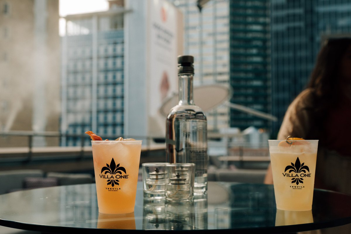 A drink with a view 🌇 #LifeAsItShouldBe #VillaOne