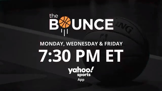 It's going down on #TheBounce tonight with @ALaForce, @realtuffjuice, & @QRich! 🏀  Tune-in at 7:30 PM/ET on the @YahooSportsNBA app 📲 http://yhoo.it/2LeP2Hr