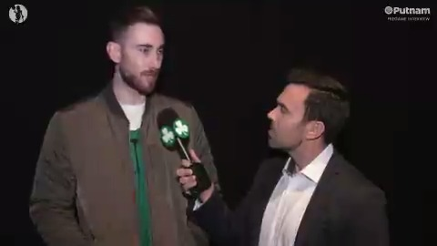 Gordon Hayward speaks ahead of the game about how he's looking to build off of his first game back from injury, and maintaining the momentum from our recent home stint tonight.