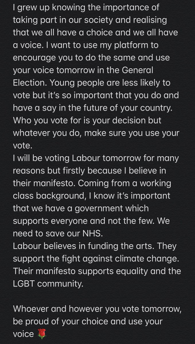 Tomorrow. VOTE.