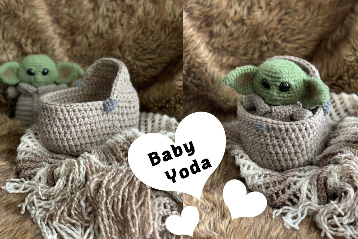 Crochet Dolls Crib/Cradle 4.5-5