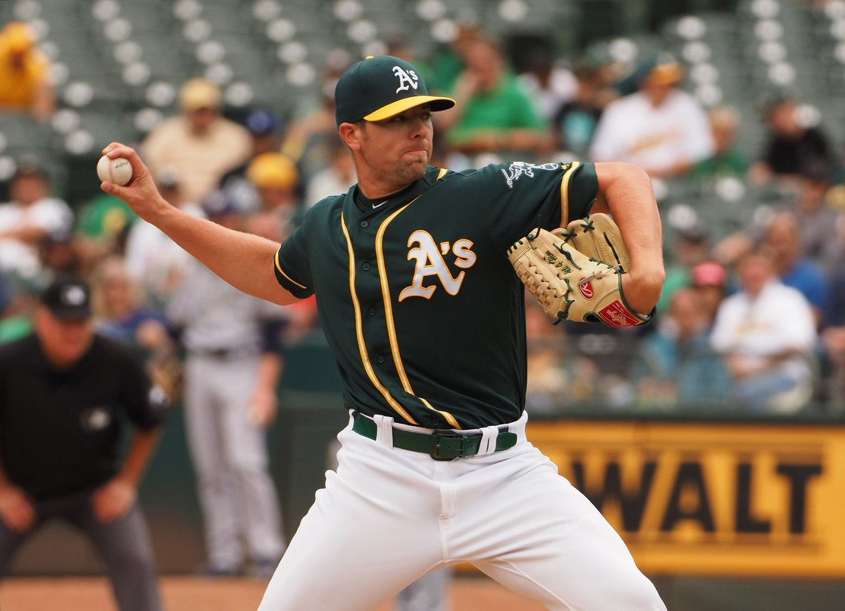 Breaking: #Dodgers agree to one-year, $10M deal with reliever Blake Treinen. <br>http://pic.twitter.com/xuJSQH11tR
