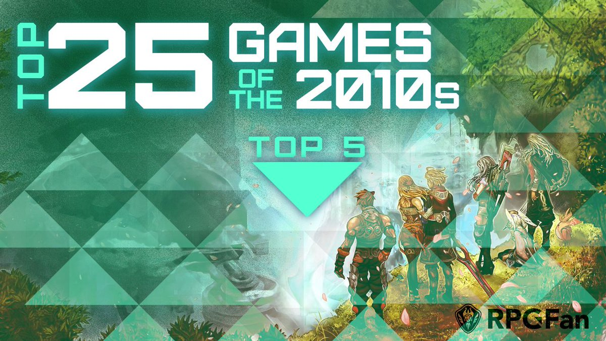 This is it! OUR TOP 5 Games of the Decade!! But at this point it's not really a contest, all 5 of these games (and most of the games in the list) are ALL worth a play.💚Tell us your #GOTD or what we missed! https://www.rpgfan.com/features/Top-25-Games-of-the-2010s/index5.html…