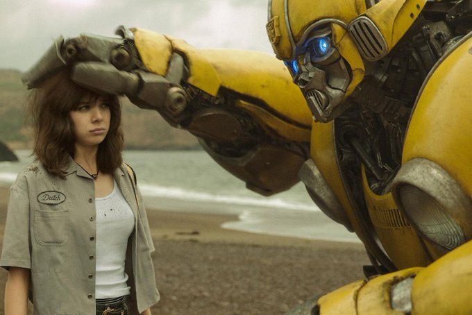 Happy birthday to Hailee Steinfeld. Now playing the surprisingly warm and enjoyable BUMBLEBEE.