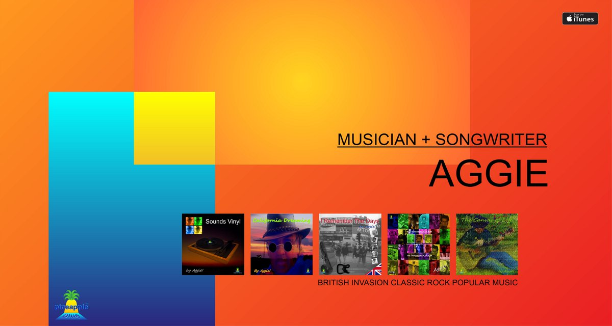#AggieMusic #GreatMusic #RockandRoll #Songwriter #AggieMusician Enjoy the experience of my originally written music from the 70's, 80's, 90's and today on Apple iTunes 😉❤️😎 x