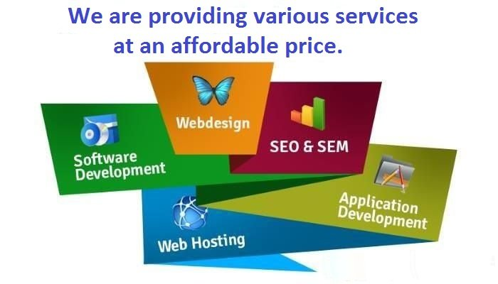 We are providing various services at an affordable price.  1–#WebsiteDevelopment   2–#SEOServices  3-#SMMServices  4-#SMOServices   5-#PPCServices   6-#Facebook  7-#GraphicDesign: -  8-#Content  Contact us: Call or Whatsapp: 9470221840 Email id:vivekkr1706@gmail.com<br>http://pic.twitter.com/5jm0o6PNtX