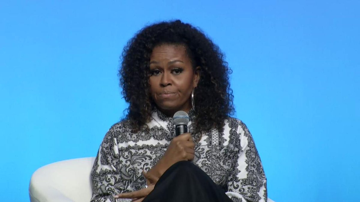 """""""Trust your gut. And don't get discouraged."""" Take a moment for some extra inspiration today. Watch @MichelleObama's inspiring closing remarks at #ObamaLeaders."""