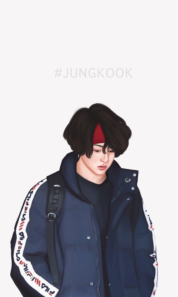 น้องกุ๊ก ☺️ #Jungkook #btsfanart #BonVoyage4