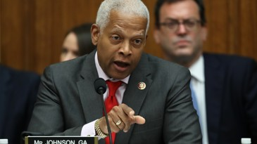 """""""We the people are not as dumb as President Trump thinks we are.""""  """"Will we vote to hold the President accountable or will we serve as his accomplices?"""" Rep. Hank Johnson of Georgia delivers the speech of the #impeachmentDebate <br>http://pic.twitter.com/dyulBank3F"""