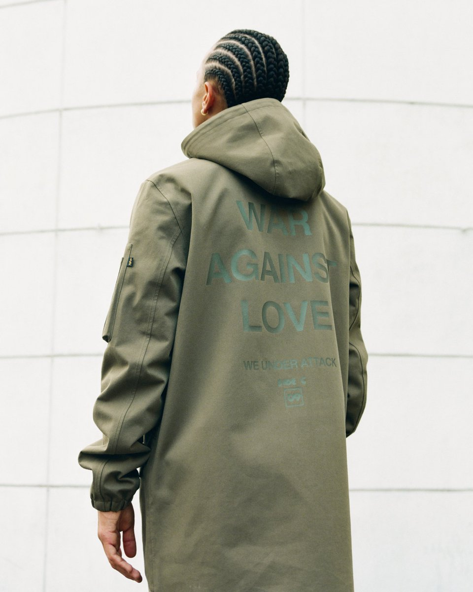HSTRY x Alpha Industries — now available on hstryclothing.com