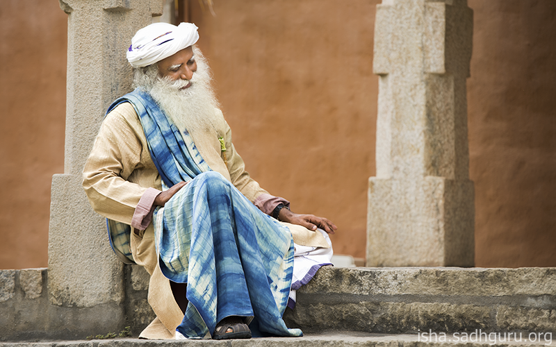 To create an outside situation, you need the cooperation of other people and forces. To create an inner situation, you only need yourself. #SadhguruQuotes