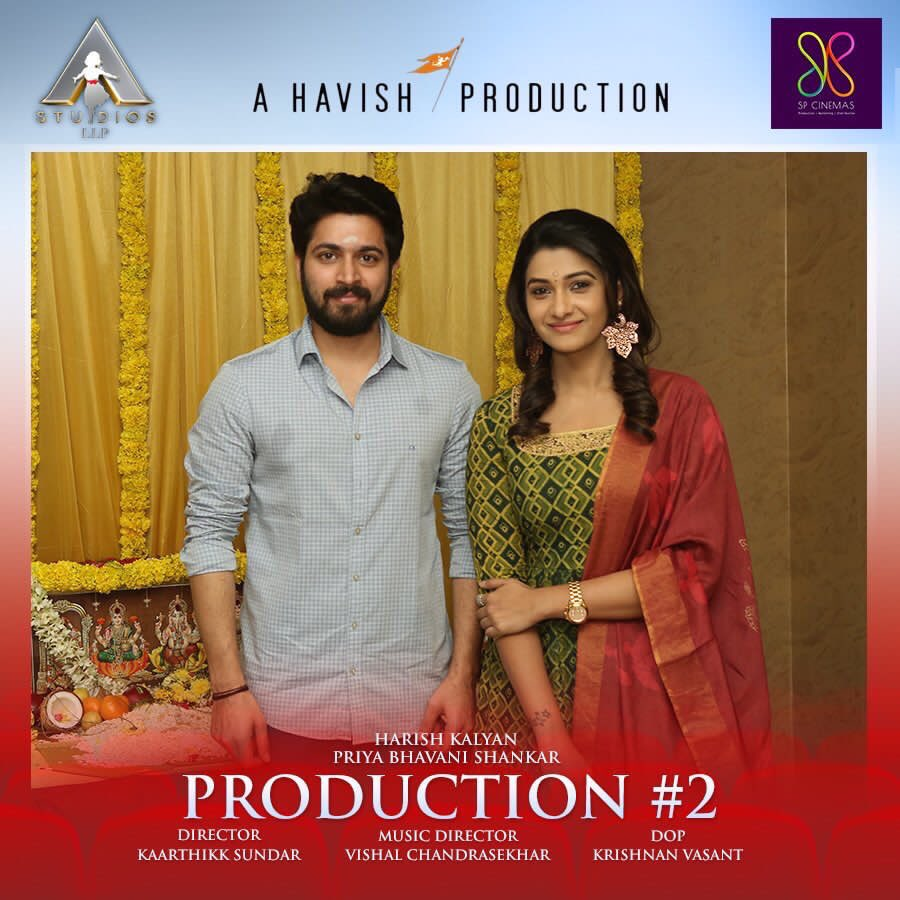 Congrats the gorgeous @priya_Bshankar & the handsome @iamharishkalya... love this fresh pair  rock it !!!!<br>http://pic.twitter.com/SPVLuPyaAe