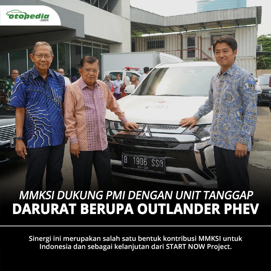 PT Mitsubishi Motors Krama Yudha Sales Indonesia (@mitsubishi_ID) menandatangani nota kesepakatan dengan @palangmerah untuk penyediaan unit Mitsubishi Outlander PHEV untuk mendukung aktivitasnya.   Simak selengkapnya →   #MitsubishiIndonesia #PMI