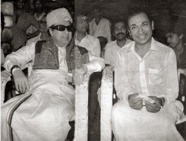 Dr.Raj with Dr.MGR  ಎಂದು ಮರೆಯಲಾಗದ ರಾಜ್  #ಡಾರಾಜ್  #DrRaj #MGR