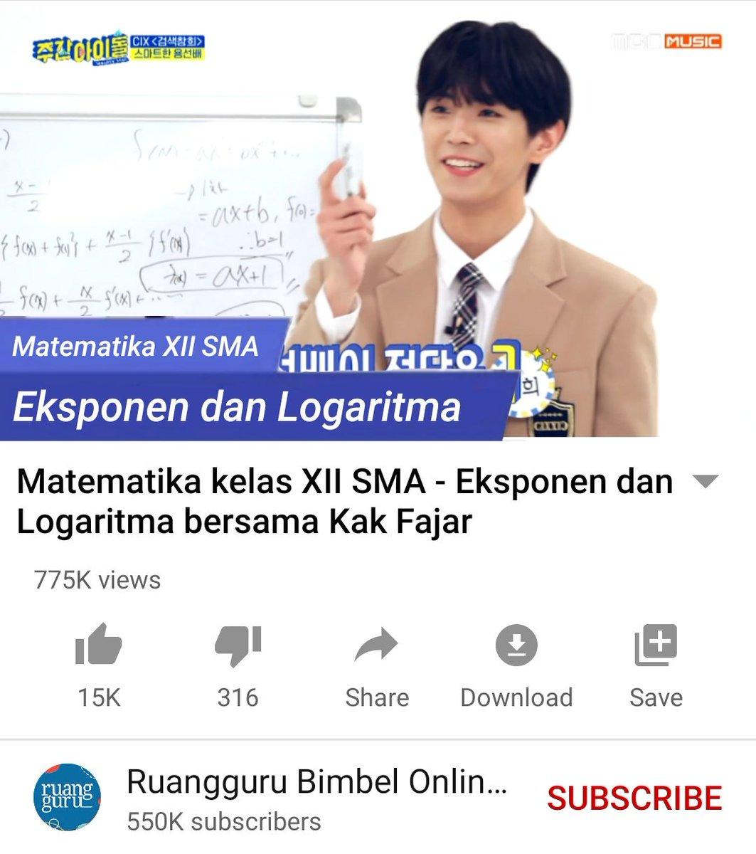 Fixeu Or Fixh On Twitter C9b Yonghee Sebagai Brand Ambassador Ruangguru Https T Co 1gunukja0n