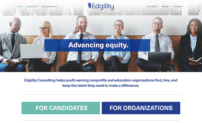 #Nominee for #GOTD #vote now:Edgility ConsultingBy That Creative Guy from United Stateshttps://www.webguruawards.com/user/details/EdgilityConsulting-2589…#Edgility #Consulting #helps #youth #serving #nonprofits #organizations #hire #talent