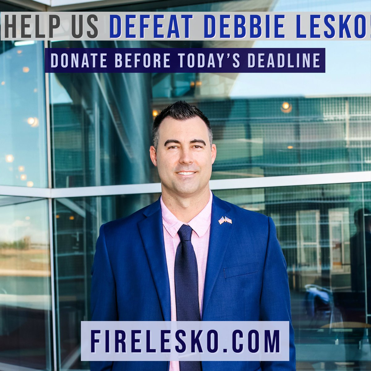 Debbie Lesko is trending because shes a horrible person But this is a great opportunity to introduce you to her #AzLeg opponent in #CD8 Please follow & support @michael_muscato - & be sure to visit FireLesko.com #HouseJudiciary #ImpeachmentDebate #ImpeachAndConvict