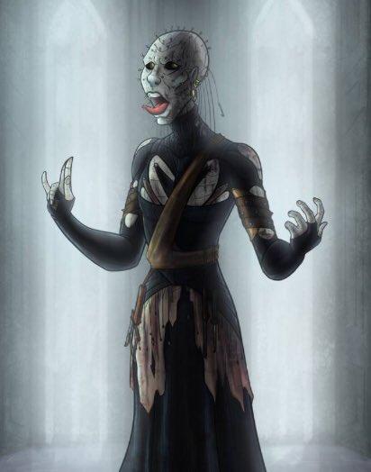 The Hell Priest from #horrorartist #amrock at  #deviantart #hellraiser #readmoreclivebarker #imajica #abarat #cabal #weaveworld https://www.deviantart.com/amrock/art/Hellpriest-648127689…pic.twitter.com/Foc3OwoM3X