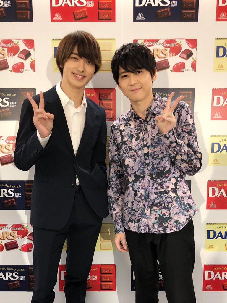 【梶】「ダースの日」12月12日は、ダースの日!CM出演させていただいている「DARS」のイベントに、横浜流星くんと一緒に登壇させていただきました!爽やかで、本当に素敵な俳優さんです!今年の冬は「DARS」を食べて、幸せな気持ちになりましょう!新CMも是非!!
