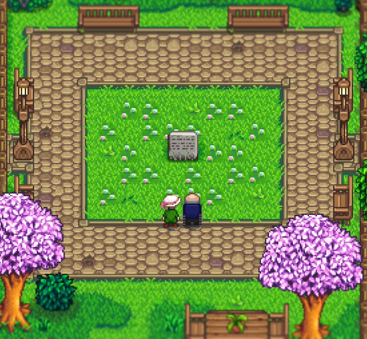 Flashshifter On Twitter Fun Fact George And Evelyn Visit The Pelican Town Marker On Saturdays Stardewvalley Stardewvalleyexpanded See more of stardew valley on facebook. evelyn visit the pelican town marker