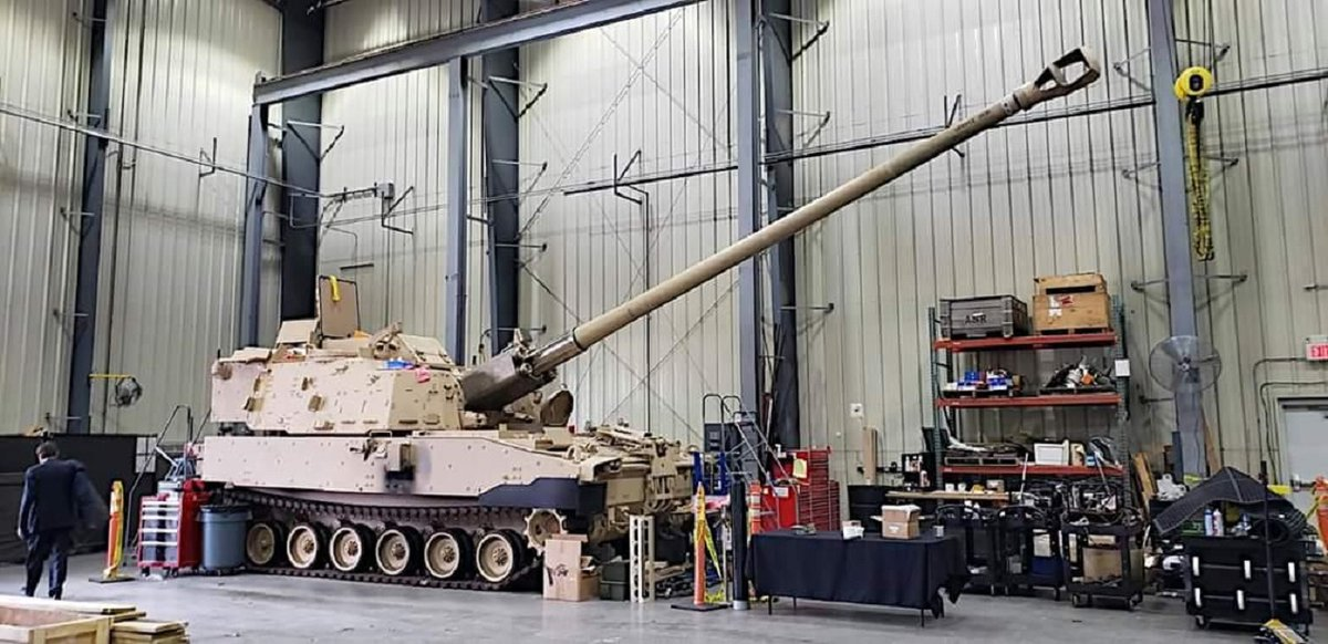 RT @Defence_blog: Leaked photos show new U.S. Army super cannon in stunning detail  https://t.co/uCSotqyoye https://t.co/vxgh0PItqb