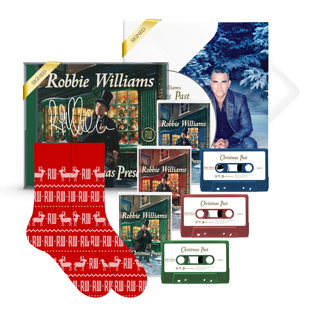 ** Head to Shop.RobbieWilliams.com - only a few hours left of the Flash Christmas Sale **
