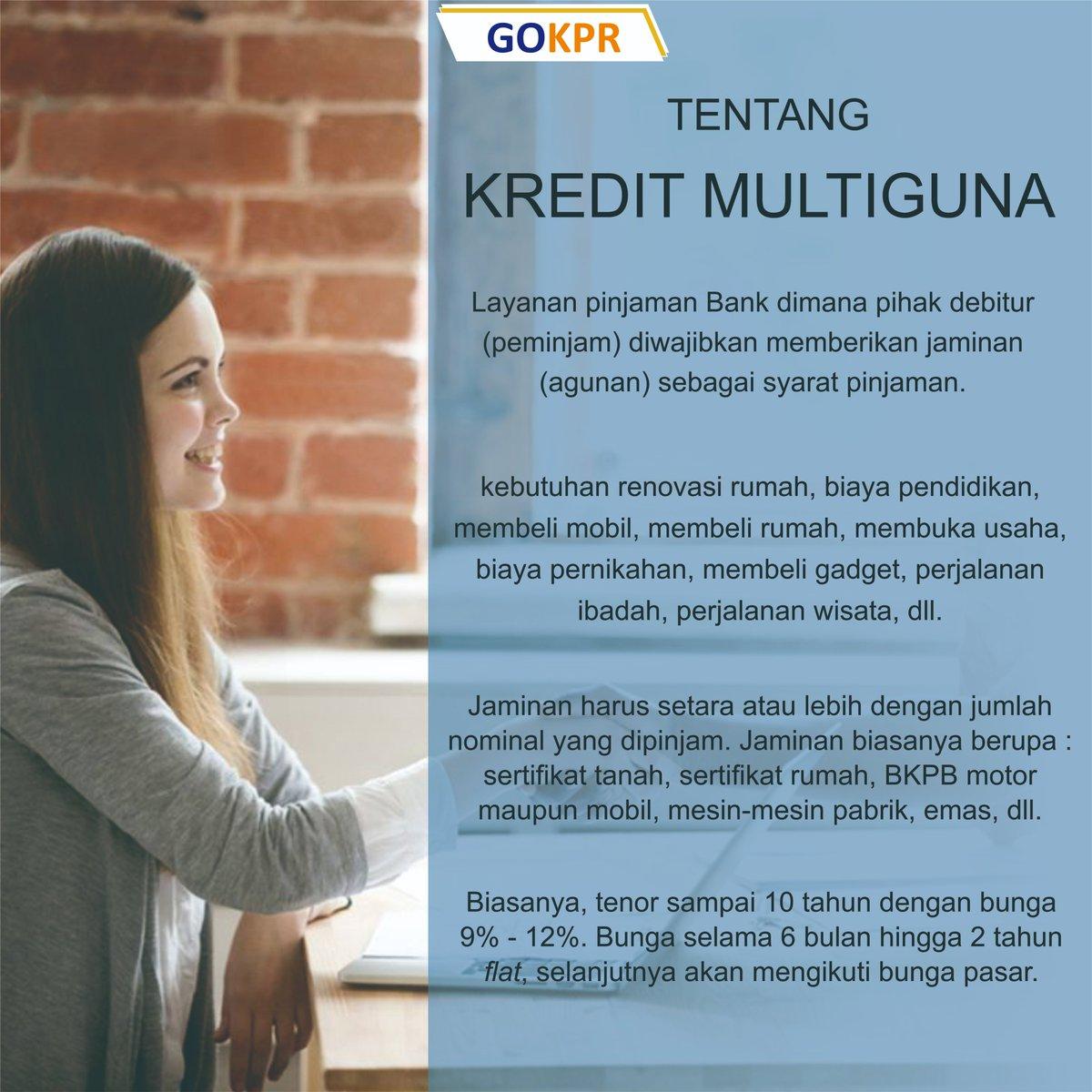 Sekilas info tentang Kredit Multiguna (KMG)... Yuk pahami untuk bisa ajukan kebutuhanmu . . #kreditmultiguna #kmg #multiguna #pembiayaanmultiguna #kredit #kpr #kpa #kkb #gokprpic.twitter.com/bCUwmwH8lL