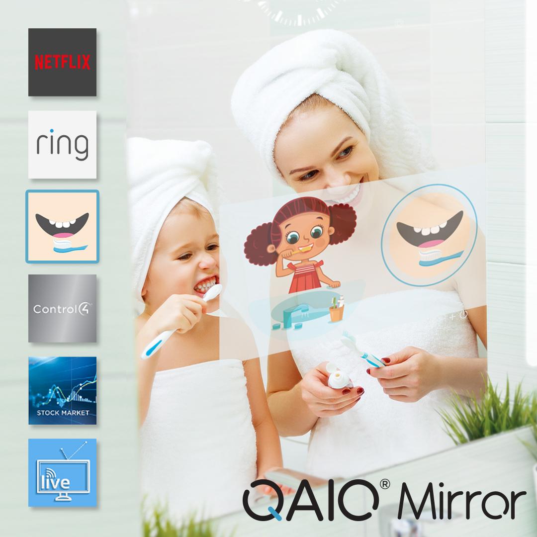 Morgens Routine zu machen ist viel besser mit einem intelligenten  Spiegel, der bietet, was Sie brauchen. #QAIO #myqaio #QAIOspiegel #Morgenroutine #Seide #zahnärztlich #Gesundheitsfürsorge #smartapps http://bit.ly/2MD9sdypic.twitter.com/5fHXzgY8OQ