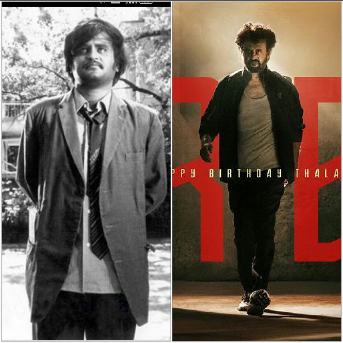 40+ years ruling silver screen n entertaining 6 to 60 is incredible..How many generation..Still on top..Eternal hero material..Epitome of style..One..The super one..Wishing the uparalleled one n only superstar!#HappyBirthdaySuperstar