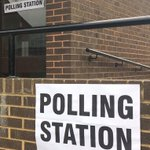Image for the Tweet beginning: And we're off! Polling stations