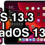 Image for the Tweet beginning: Sortie d'iOS 13.3 : voici