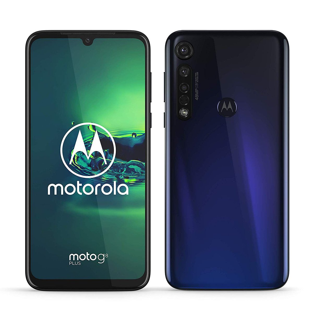 Motorola Moto G8 plus (display FHD 6,3, sensore fotocamera da 48 MP , altoparlanti stereo Dolby®, 64 GB/ 4GB, Android 9.0, Smartphone Dual SIM ), Cosmic Blue:buff.ly/2LILjjp #Motorola #smartphone #Android #photo #video #storage #fast #Christmas #gift #tech #news #today