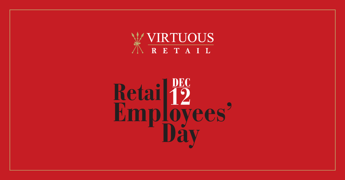 Happy Retail Employees Day to all our #partners who work with us every day in curating memorable experiences for our customers.  #RED2019 #RetailEmployeesDay @VRChennai @VRBengaluru  @VRSurat @vr_punjab #TriliumAmritsar #TriliumNagpur #ConnectingCommunities #VirtuousRetail https://t.co/tFiqD2DD0Z